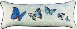 Kék pillangók párnahuzat