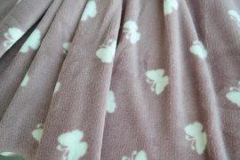 Pillangós takaró mályvaszínű