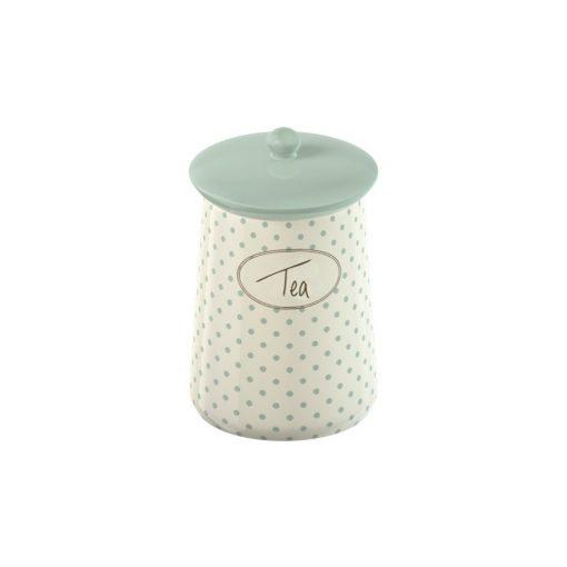 Kerámia teafű tároló