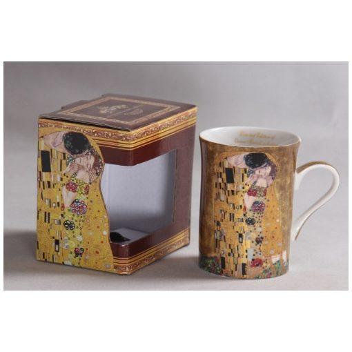 Porcelánbögre, 250ml, Klimt:The Kiss