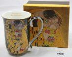 P.P.W8KL359-22390 Porcelánbögre 400ml,Klimt:The Kiss