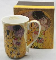 Porcelánbögre 400 ml,Klimt: The Kiss