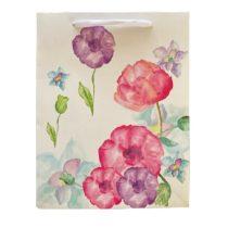 Színes pipacsok ajándék táska (23x18x10cm)