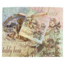 Teddy Bear ajándék táska (11x14x6cm)