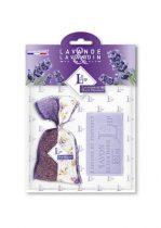 Levendulával töltött Bicolore Violet zsák 18g+levendulaszappan 100g