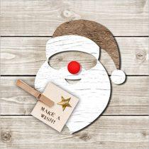 Santa Red Nose papírszalvéta 33x33cm,20db-os