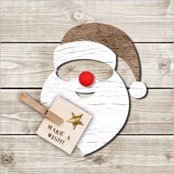 PPD.C3332182 Santa Red Nose papírszalvéta 33x33cm,20db-os