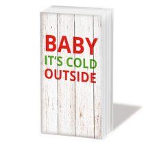 Chalet Deco Baby papírzsebkendő,10db-os