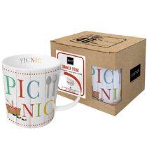 Porcelánbögre 0,35l,dobozban,Summer Picnic