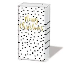 Christmas Confetti papírzsebkendő,10db-os