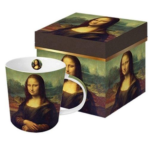 Porcelánbögre 0,35l dobozban, Mona Lisa