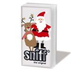 PPD.SNIFF051687 Santa & Deer papírzsebkendő,10db-os