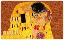 Reggeliző alátét melamine 23,5x0,2x14,5cm,Klimt:The Kiss