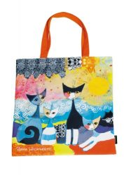 Textil bevásárlótáska 38x40cm, polyester, Rosina Wachtmeister : Merletto Sole
