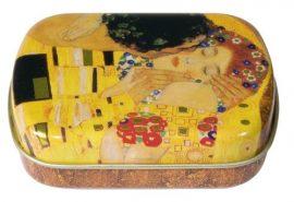 FRI.18611 Fémdoboz 6,3x1,8x5,2cm, Klimt: The Kiss