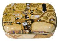 Fémdoboz 6,3x1,8x5,2cm, Klimt: Életfa