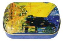 Fémdoboz 6,3x1,8x5,2cm, Van Gogh:Kávéház éjjel