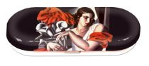 Szemüvegtok fémdoboz, 16x2,8x6,6cm Lempicka: Portrait of Ira P.
