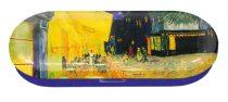 Szemüvegtok fémdoboz, 16x2,8x6,6cm, Van Gogh: Café de Nuit