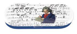 Szemüvegtok fémdoboz, 16x2,8x5,5cm,Beethoven