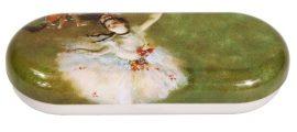 Szemüvegtok fémdoboz, 16x2,8x6,6cm, Degas:The Star
