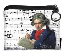 Mini pénztárca, polyester, 12x1,5x10cm,Beethoven