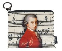 Mini pénztárca, polyester, 12x1,5x10cm,Mozart
