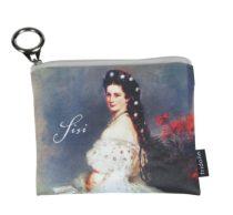 Mini pénztárca, polyester,12x1,5x10cm, Sisi