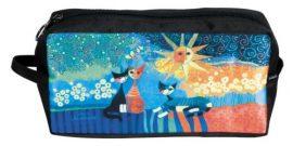 Kozmetikai táska 25x12x8cm, polyester,Rosina Wachtmeister:Dolce Vita