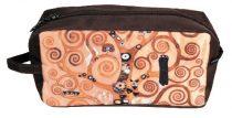 Kozmetikai táska 25x12x8cm, polyester,Klimt:Életfa