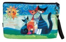 Kozmetikai táska 25x3x17cm, polyester,Rosina Wachtmeister:Moment di Felicitá