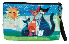 FRI.19371 Kozmetikai táska 25x3x17cm, polyester,Rosina Wachtmeister:Moment di Felicitá