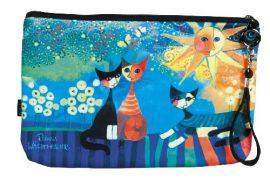 Kozmetikai táska 25x3x17cm, polyester,Rosina Wachtmeister:Dolce Vita