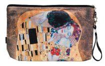 Kozmetikai táska 25x3x17cm, polyester,Klimt:The Kiss