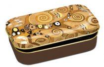 Fémdoboz 10x2x6,2cm, Klimt:Életfa