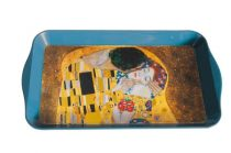 Fémtálca 32x2x19cm,Klimt:The Kiss