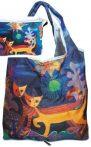 FRI.40511 Táska a táskában,polyester,Rosina Wachmeister:Wonderland,42x48cm,összehajtva:16x13cm