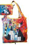 FRI.40513 Táska a táskában,polyester,Rosina Wachtmeister:We want to be together,42x48cm,összehajtva:16x13cm