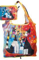 Táska a táskában,polyester,Rosina Wachtmeister:We want to be together,42x48cm,összehajtva:16x13cm