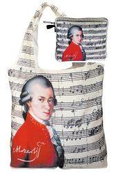 Táska a táskában,polyester,Mozart,42x48cm,összehajtva:16x13cm