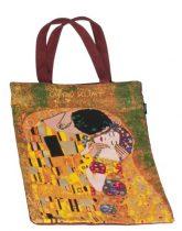 Bevásárlótáska pamut 34x40cm, Klimt:The Kiss
