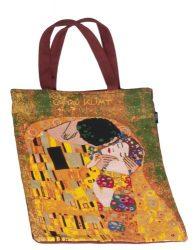 FRI.40636 Bevásárlótáska pamut 34x40cm, Klimt:The Kiss