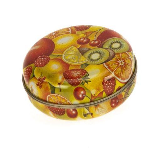 Konyhai fémdoboz 76x30mm Fruit Mix
