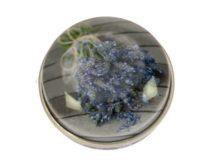 Gyógyszeres fémdoboz 40,2x18,6mm Lavendel