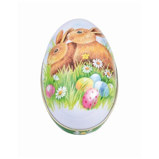 Konyhai tojás fémdoboz 112x69x69mm Bunnies