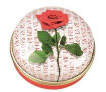 Gyógyszeres fémdoboz 40,2x18,6mm, La Vie En Rose
