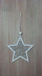 Karácsonyfa dísz csillag