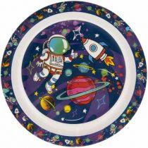 Műanyag tányér 22cm, Spaceman