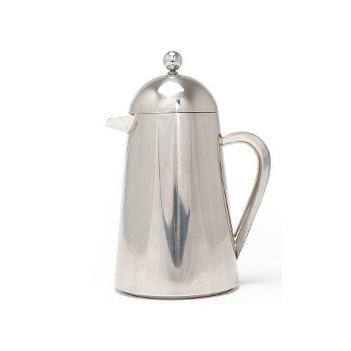 Kávé és teakészítő duplafalú termosz, 350ml, rozsdamentes acél, Steel, La Cafetiére