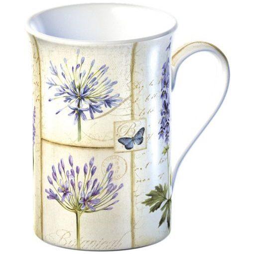Porcelánbögre díszdobozban 350ml, Etude de Fleurs